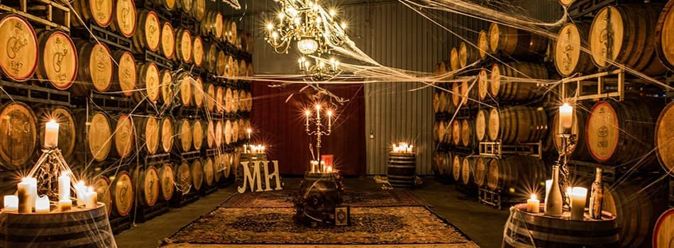 Purchase Tickets to Spooky Cellar Tour at Messina Hof Estate Winery and Resort on CellarPass