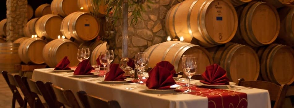 Purchase Tickets to Valentine's Barrel Room Dinner 2019 at Sanford Winery on CellarPass