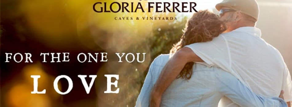 Purchase Tickets to Valentine's Tasting for Two: Stop & Smell the Rosé at Gloria Ferrer Caves & Vineyards on CellarPass