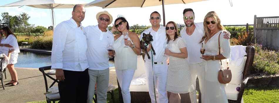 JCB Summer White Party - Midsummer Night's Dream at Buena Vista Winery