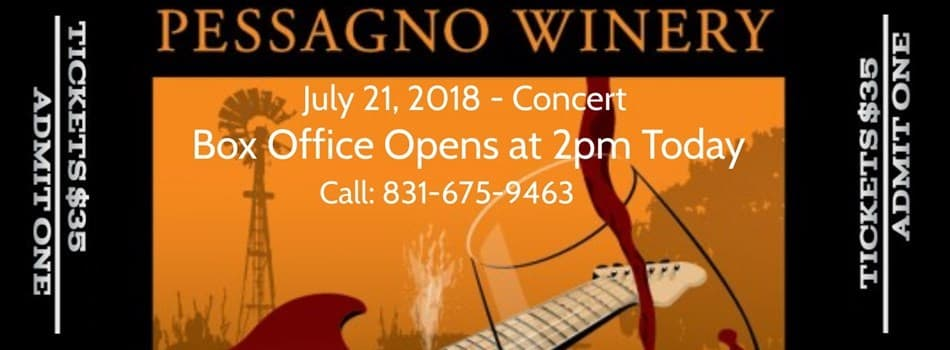 Purchase Tickets to Pessagno Summer Concert Series ft. The 44's & Backyard Blues Band at Pessagno Winery on CellarPass