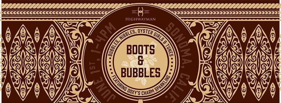 Purchase Tickets to Boots & Bubbles at Highwayman Wines on CellarPass