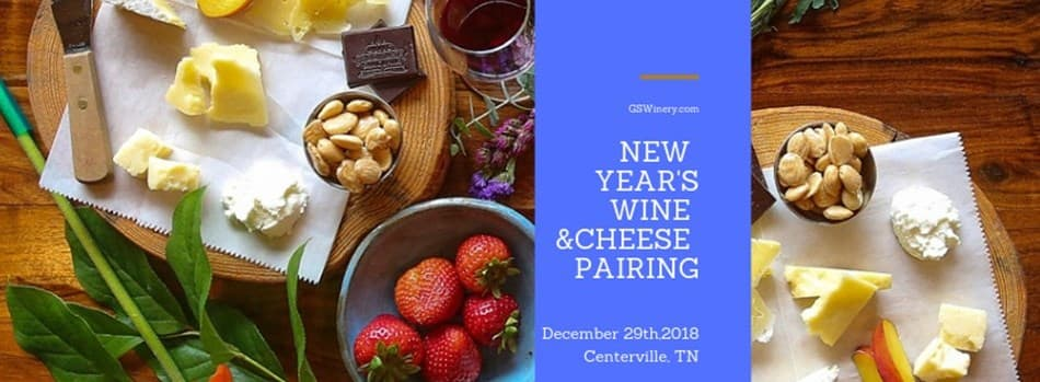 Purchase Tickets to New Year's Wine & Cheese Pairing with Tank Room Tour at Grinder's Switch Winery on CellarPass