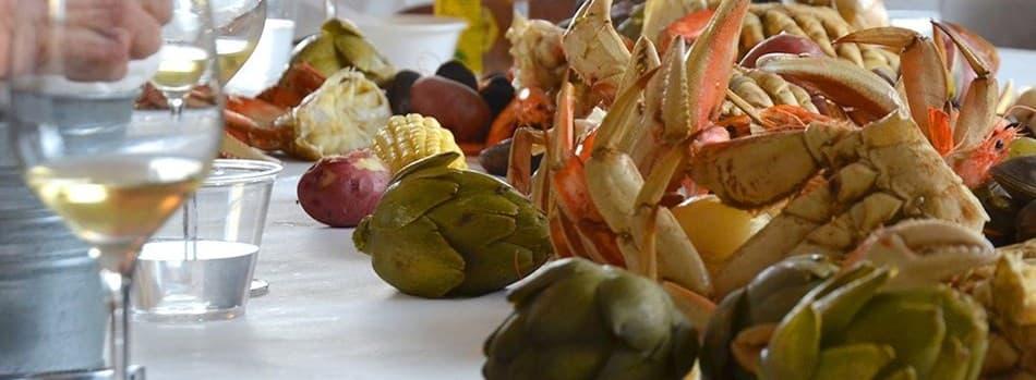 Crab & Chardonnay
