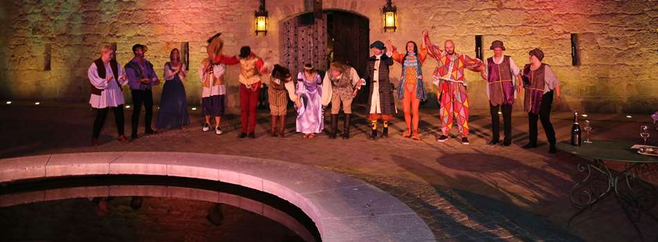 "Purchase Tickets to Shakespeare Under the Stars - ""As You Like It"" at Buena Vista Winery on CellarPass"