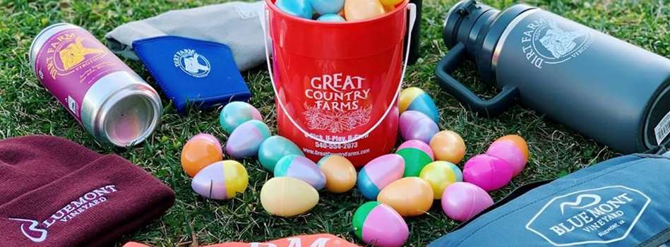Purchase Tickets to Adult Easter Egg Hunt at Bluemont Vineyard on CellarPass