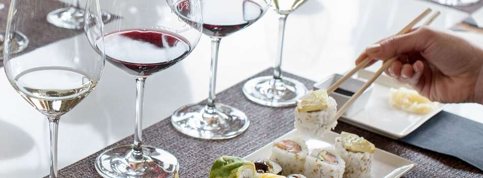 Summer Wines & Sushi Party