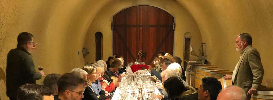 Purchase Tickets to Grilled Six Sigma Sausage Lunch in the Wine Cave #3 at Six Sigma Ranch & Winery on CellarPass