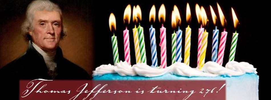 Purchase Tickets to Thomas Jefferson's 276th Birthday Party! at Monticello Vineyards on CellarPass