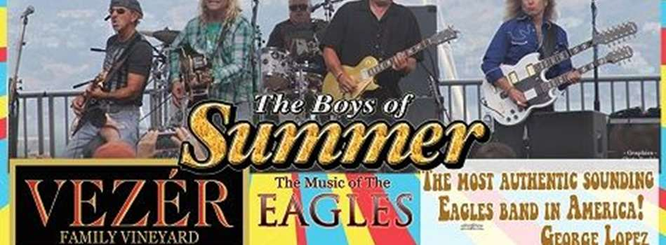 Purchase Tickets to VEZERSTOCK Wine & Live Music Series - Boys of Summer at Vezer Family Vineyard on CellarPass