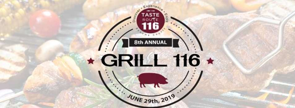 Purchase Tickets to Grill 116 2019 at Taste Route 116 on CellarPass