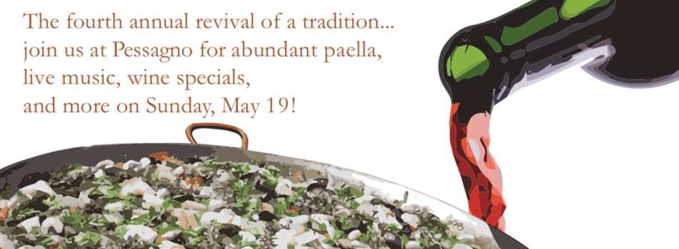 Purchase Tickets to Paella & Pessagno - May Baby Birthday Bash 2019 at Pessagno Winery on CellarPass