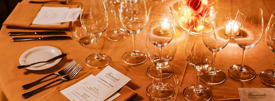 Purchase Tickets to 4th Annual Harvest Dinner Party at Fairwinds Estate Winery on CellarPass