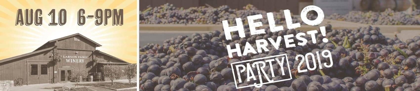 Purchase Tickets to Hello Harvest! Party at Larson Family Winery on CellarPass