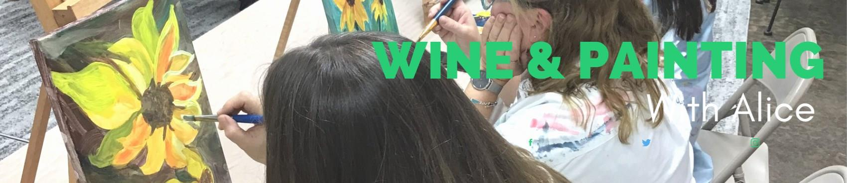 Purchase Tickets to Wine & Painting with Alice Waugh at Grinder's Switch Winery on CellarPass