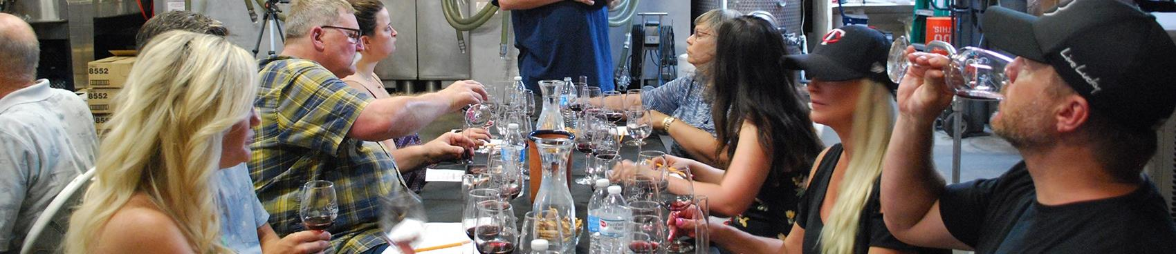 Purchase Tickets to Zinfandel Vineyard Tour & Clonal Tasting at Crystal Basin Cellars on CellarPass
