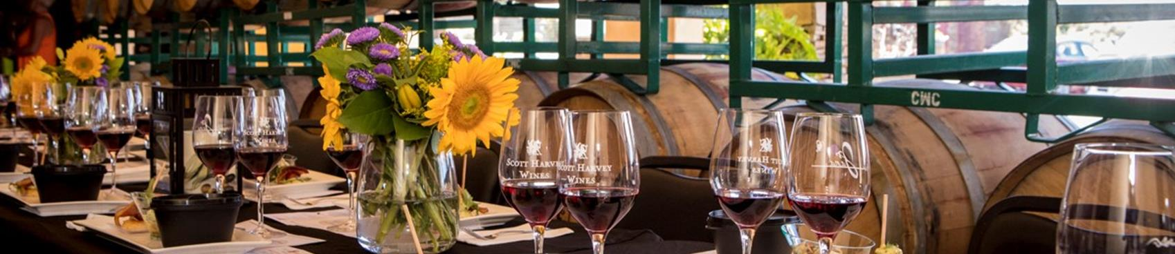Purchase Tickets to October 3&3 Wine and Food Pairing at Scott Harvey Wines on CellarPass