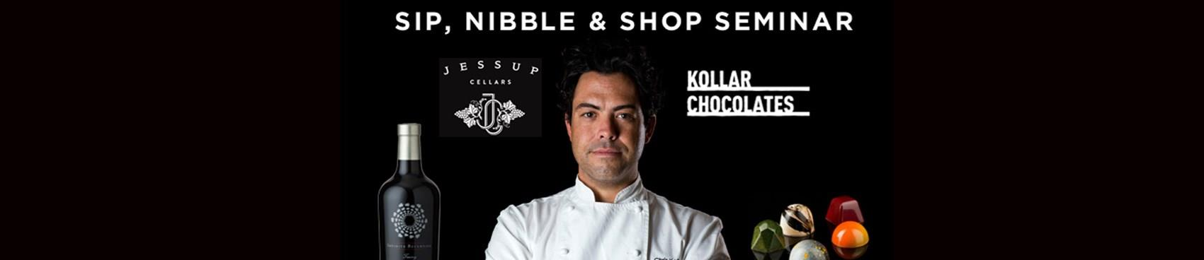 Purchase Tickets to Chocolate Seminar: Sip, Nibble & Shop with Famed Chocolatier Chris Kollar at Jessup Cellars on CellarPass