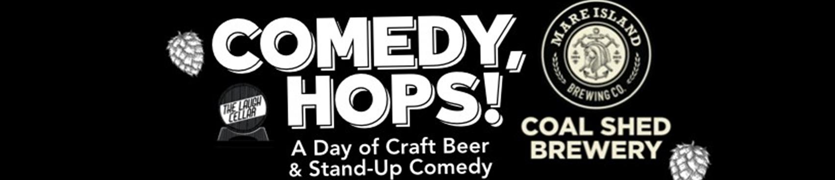 Purchase Tickets to Comedy, Hops! A Day of Craft Beer & Stand-Up Comedy at The Laugh Cellar on CellarPass