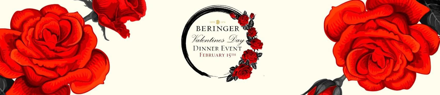 Purchase Tickets to Valentine's Day Dinner-2020 at Beringer Vineyards on CellarPass