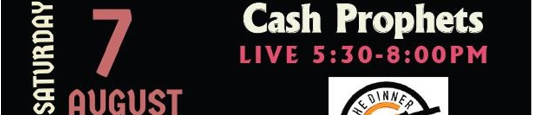 Food, Wine & Live Music by Cash Prophets