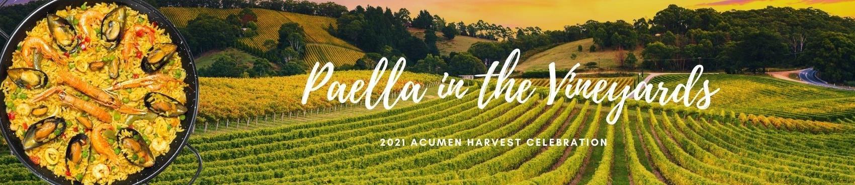 Paella in the Vineyards Harvest Celebration